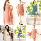 Summer Chiffon Fashion Women Casual Dresses Loose Maternity Mini Dress Sundress
