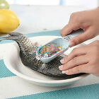 1/5 Pcs Fish Scales Skin Remover Scaler Fast Cleaner Brush Kitchen Clean Tool