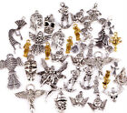 Fashion 100g(about 80pcs) Mixed Angel Fairy People Charms Pendants