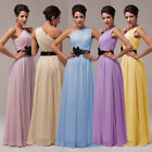 New Charm Long Formal Chiffon Bridesmaid Evening Party Ball Gown Wedding Dress