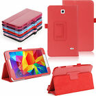 "PU Leather Folio Stand Smart Case for 8.0"" Samsung Galaxy Tab 4 T330NU T337 New"