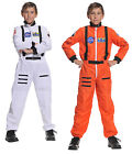 ASTRONAUT JUMPSUIT CHILD KIDS COSTUME NASA UNIFORM SHUTTLE PILOT SPACE CADET
