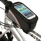 ON SALE~ 1 New Cycling Bike Bicycle Frame Front Tube Bag For Cell Phone 4.8 inch