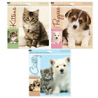 Cute Cuddly Kittens Puppies Animal 2015 Calendar Year Month to View Free Diary
