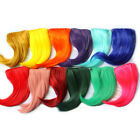 a Hip Hop  Women Girl Side False Bangs Fringe Hairpiece Clip on Hair Extensions