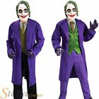 Boys Joker Batman The Dark Knight Villian Child Halloween Fancy Dress Costume