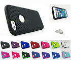 for Apple iPhone 6 (4.7 Inch)Rubberized Mesh Hard/Soft Phone Case Cover+PryTool