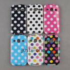 Cute Lovely Polka Dots Case Cover Back fitted for Samsung Galaxy Xcover 2 S7710