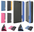 Cricket Nokia Lumia 630 Premium Leather Cradle Wallet Flip Cover + Screen Guard