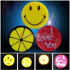 Optical Control LED Night Auto Sensor Lemon Love Smile Face Gift Lovely Lamp
