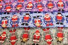 CHRISTMAS (XMAS) SNOWMAN & REINDEER - PRINTED POLY COTTON FABRIC -WIDTH 112 CM