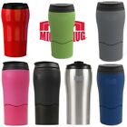 Dexam Mighty Mug Solo Travel Mug Thermos Flask Won't Spill 350ml Pink or Black