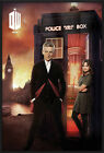 DOCTOR WHO - FRAMED POSTER / PRINT (THE DR. & CLARA - LONDON BURNING)