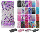 For Apple iPhone 6 6S Plus Crystal Diamond BLING Hard Case Phone Cover