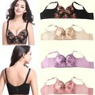 Lady Hot Bleasted Push Up Shapewear Embroidery Oversized Thin Wide Side Bra