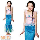 Mystical Mermaid Girls Fancy Dress Fairytale Character Kids Child Costume Outfit