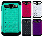 For Alcatel One Touch Sonic LTE HYBRID IMPACT Dazzling Diamond Case Phone Cover