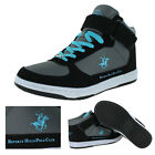 Beverly Hills Polo Club Arlington Mid Men's Sneakers Shoes Strap