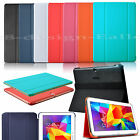 Slim Pu Leather Book Smart Case Cover Stand fr Samsung Galaxy TAB 4 10.1 T530 UK