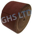 Woodturning Sanding Rolls ALUMINIUM OXIDE 50 Metre X 115mm Wide Roll