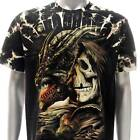b136 Sz M L XL 3XL Survivor T-shirt Tattoo STUD Grim Present Casual Men Tee VTG
