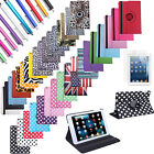 Rotating PU Leather Magnet Sleep Wake Smart Case Cover Stand for iPad Mini 1/2/3