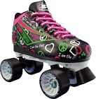 indoor roller skates for women - Black Indoor Skate - Pacer Heart Throb Women Roller Skates