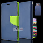 For BLU Fitted Leather PU WALLET POUCH Case Cover Colors