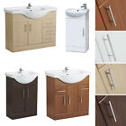 Bathroom Vanity Unit Basin Sink Cabinet Storage Furniture Cupboard - All Sizes