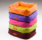 Dog Cat Pet Bed Soft Fleece Warm Cushion Cozy Mat Pad Nest Small Large Washable
