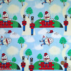 "per 1/2 metre/fat quarter 100 % cotton Humpty Dumpty themed fabric  58 "" wide"