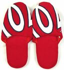 Washington Nationals Men's Slippers House Shoes MLB Baseball Hard Sole