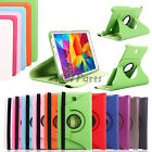 """360 Rotating PU Leather Case Cover For 7.0"""" Samsung Galaxy Tab 4 SM-T230NU T237"""