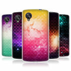 HEAD CASE PRINTED STUDDED OMBRE GEL REAR CASE COVER FOR LG GOOGLE NEXUS 5 D821