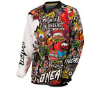 ONEAL MAYHEM 2015 CRANK MOTOCROSS MX MOTO-X OFF ROAD RACE QUAD DIRT BIKE JERSEY