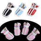 Waterproof PU Leather Anti-Slip Protective Boots Shoes for Puppy Cat Pet Dogs