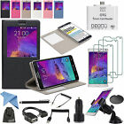 EEEKit 13in1 Accessory Kit Case+Car Charger+OTG Cable for Samsung Galaxy Note 4