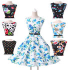 Clearence Housewife Vintage Retro Style 50s Swing Party Pinup Rockabilly Dresses