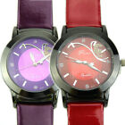 Hot Sale Leather Butterfly Watch Band For Women Dress Quartz Watch New