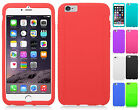 For Apple iPhone 6 Plus 5.5 Rubber SILICONE Soft Gel Skin Case Phone Cover
