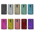 Gel Wiredrawing Silicone TPU Rubber Skin Case Cover for LG G3 S, D722 Europe