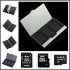 Buy 2 Get 1 Free Personalized Engravable Aluminum Memory Card Holder Case