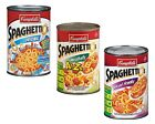 Campbell's Spaghettios Pasta Sauce 3 Cans