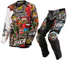 ONEAL MAYHEM 2015 CRANK BLACK MULTICOLOURED ENDURO MX OFF ROAD MOTOCROSS KIT