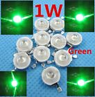1W High Power Led Beads Green Diode Lamp Bulb 50-60LM  3.2-3.4V 1watt 1~1000PCS