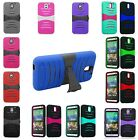 For HTC Desire 610 Arch Impact Hybrid Stand Hard Soft Cover Case Accessory