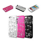CHROME SKULL HEAD & BONES DESIGNER HARD CASE FOR IPHONE 5S & 5 BACK COVER APPLE
