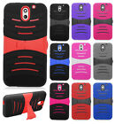 HTC Desire 610 Hard Gel Rubber KICKSTAND Case Protector Phone Cover Accessory