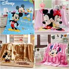 Mickey Mouse New Quilt Soft Warm MINK Blanket Trow Rug Single Size Comforter