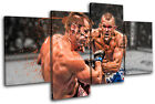 MMA Chuck Liddell Franklin Sports MULTI CANVAS WALL ART Picture Print VA